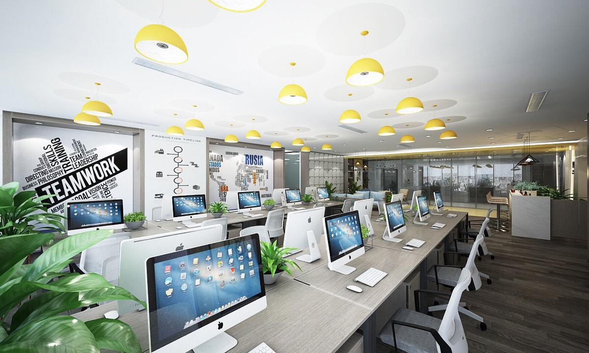 lưu ý khi thiết kế văn phòng