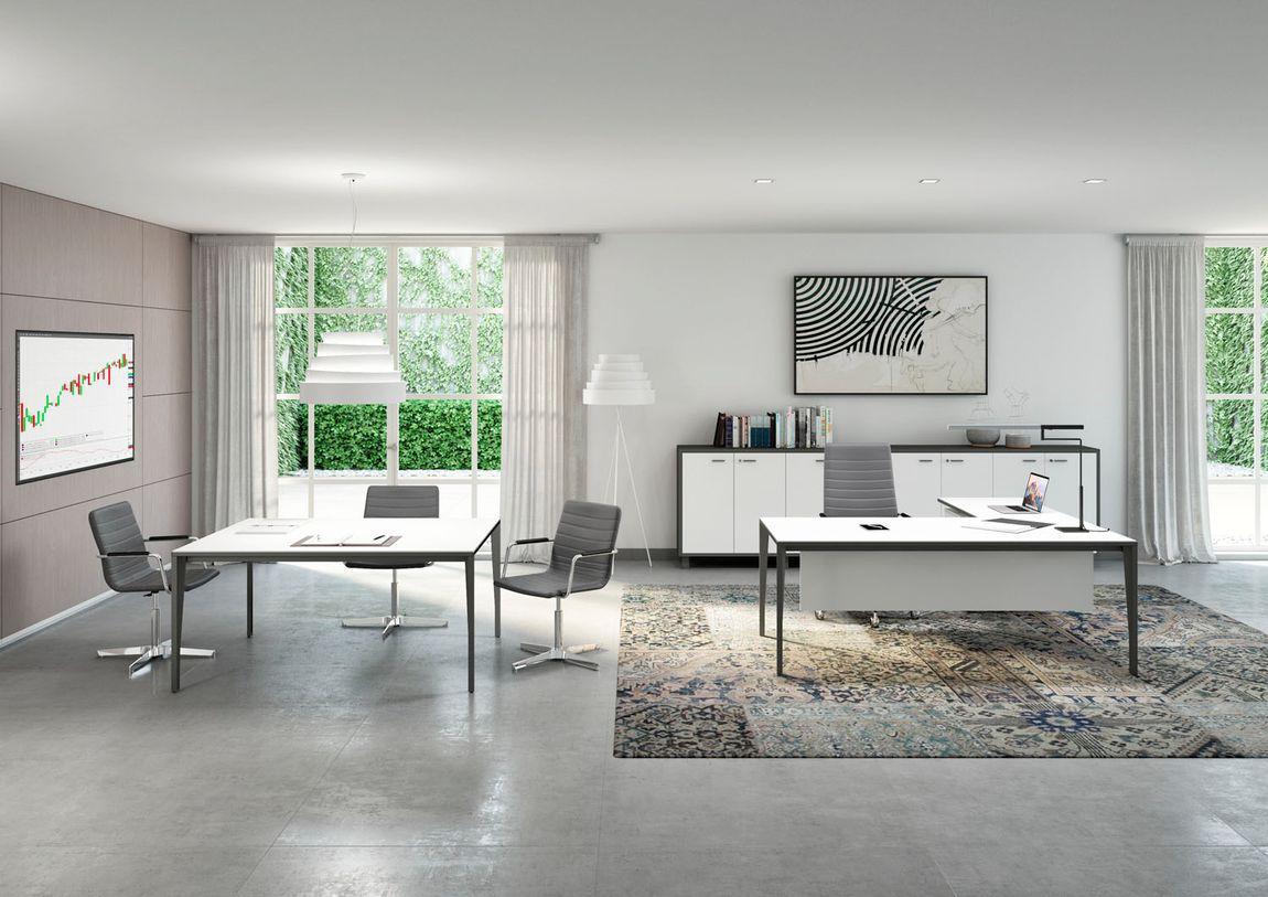 thiết kế nội thất văn phòng phong cách tối giản 1