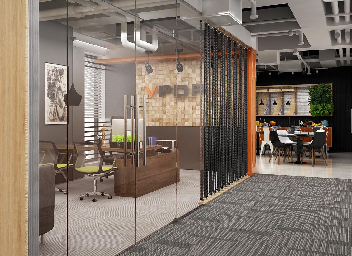 thiết kế văn phòng công nghiệp 1