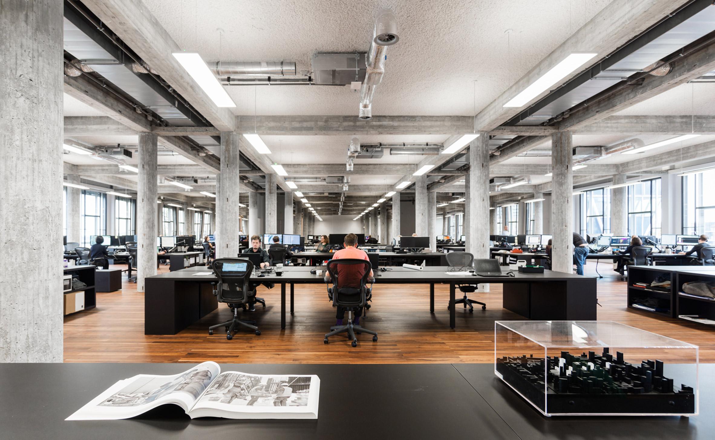 ý tưởng thiết kế văn phòng hiện đại 2